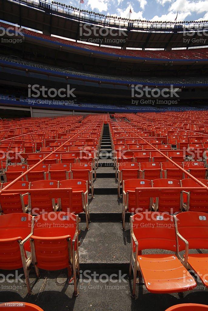 Empty Stadium royalty-free stock photo