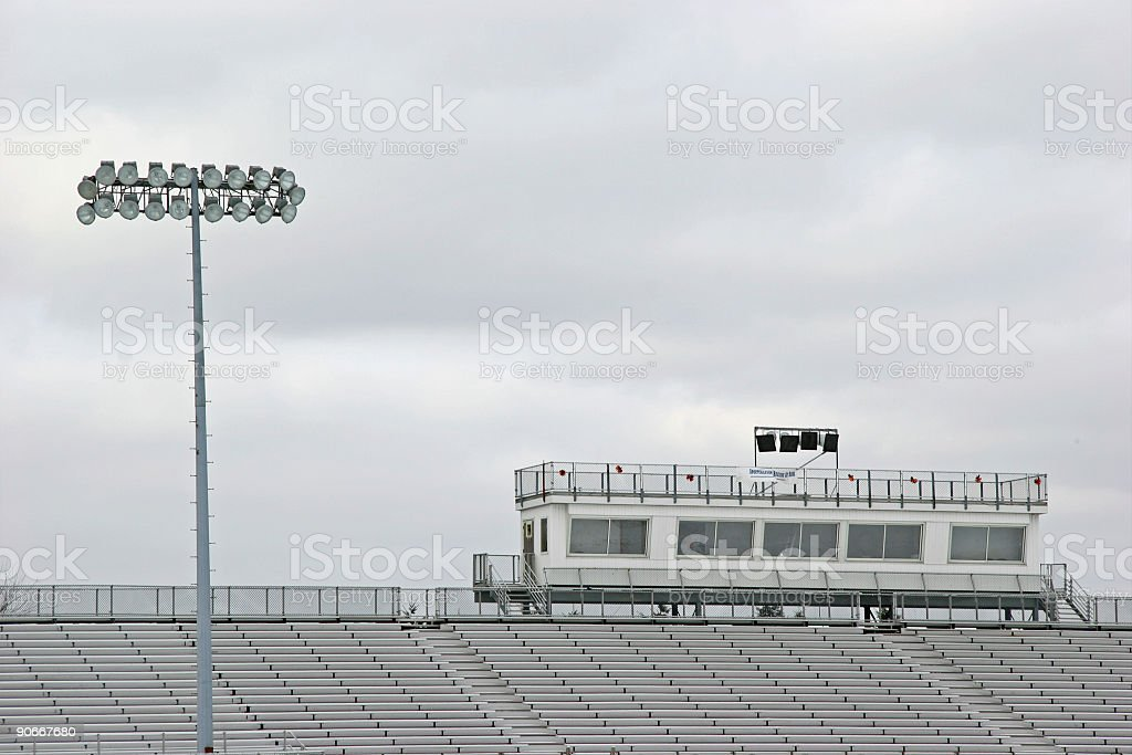 Empty Stadium royalty-free stock photo