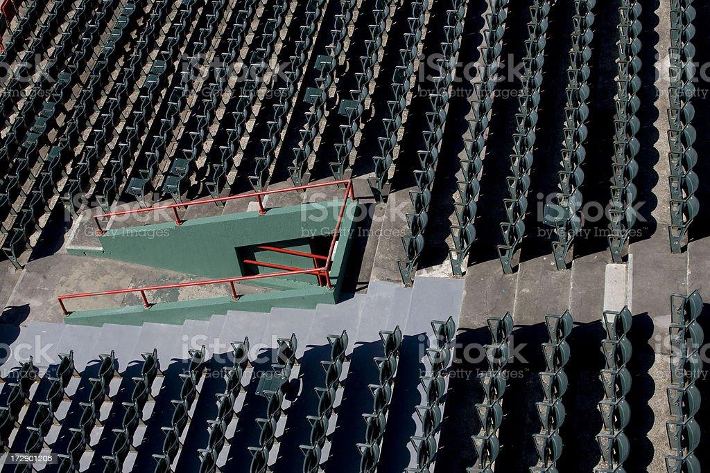 El estadio vacío - foto de stock