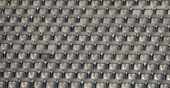 Empty Stadium Seats