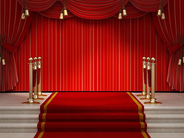 palco vazio - eventos de gala - fotografias e filmes do acervo
