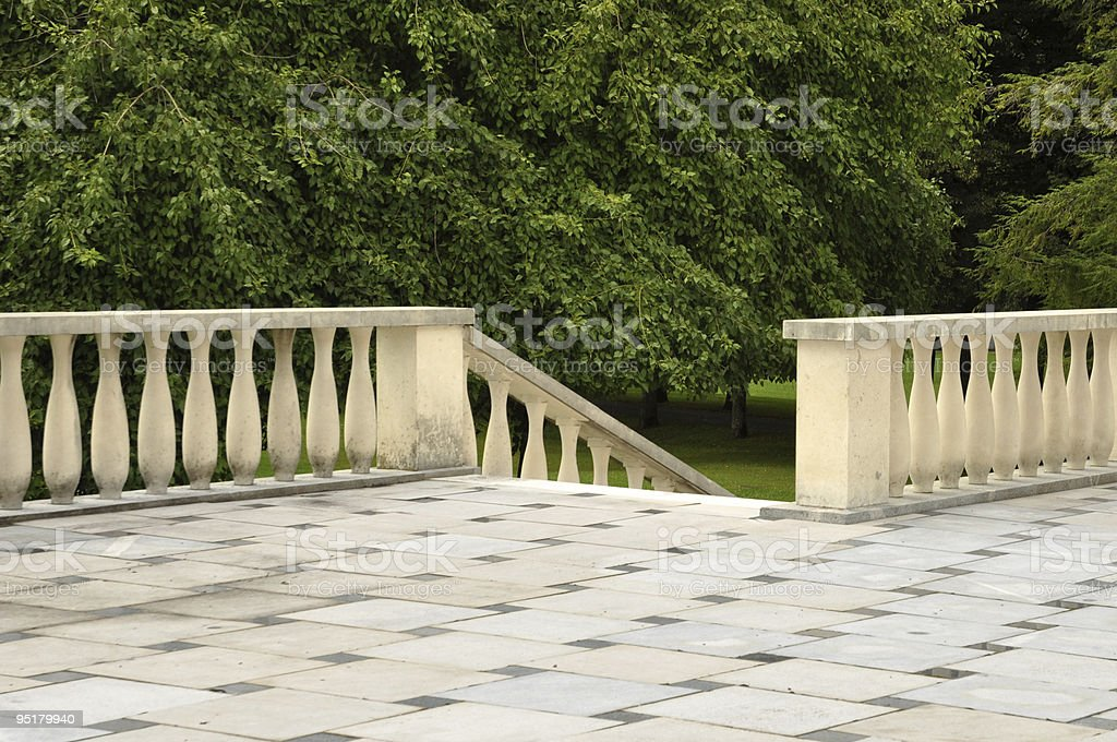 Empty Staircase royalty-free stock photo