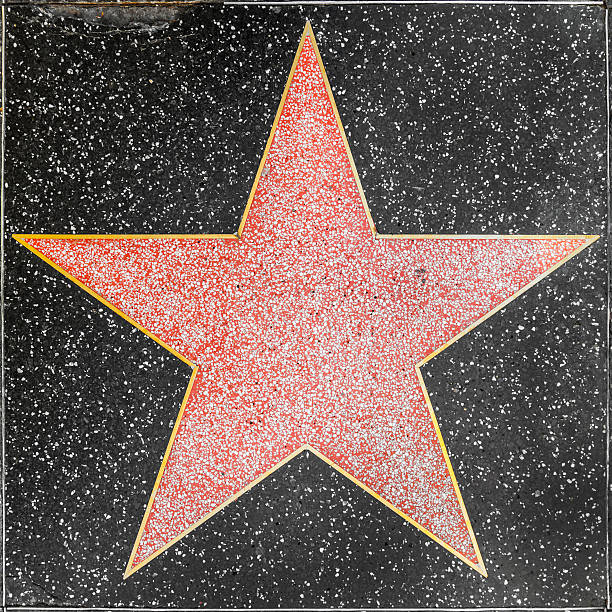 empty star on Hollywood Walk of Fame Los Angeles, United States - June 26, 2012: empty star on Hollywood Walk of Fame  in Hollywood, California. This star is located on Hollywood Blvd. and is one of 2400 celebrity stars. walk of fame stock pictures, royalty-free photos & images
