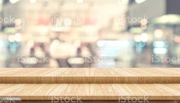 Empty step wood table top with blur customer dining at cafe bokeh picture id1183905953?b=1&k=6&m=1183905953&s=612x612&h=3z 2q ksev5vyxmky9xtejla26l6f4dm  mvfzo9ixk=