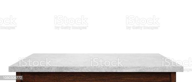 Empty stone table top isolated on white background used for display picture id1050308772?b=1&k=6&m=1050308772&s=612x612&h=nkm3uowx rb8wqul8 a8flizh3xsvcfsbritixcgqyy=