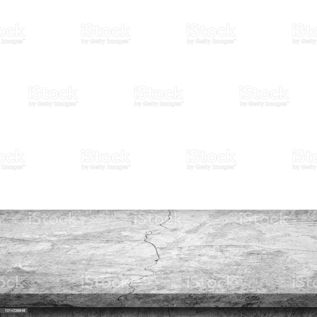 Empty stone table top on isolated white template mock up for display empty stone table top on isolated white template mock up for display of product maxwellsz