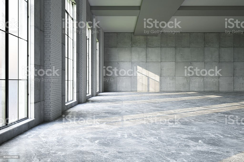 Puste Storehouse zbiór zdjęć royalty-free