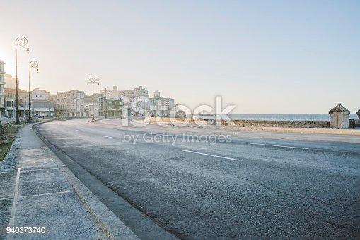 Malecon is a coastal road in Havana city of Cuba.