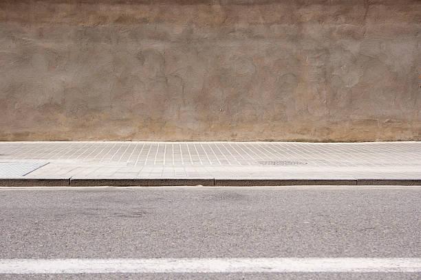 空の street - 歩道 ストックフォトと画像