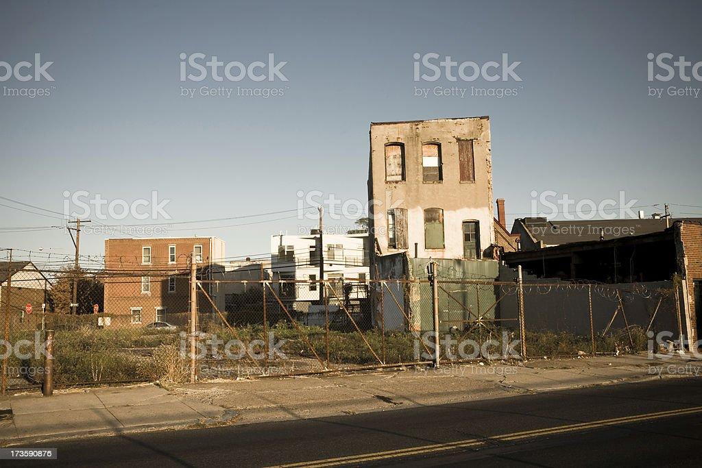 Vazia Street - foto de acervo