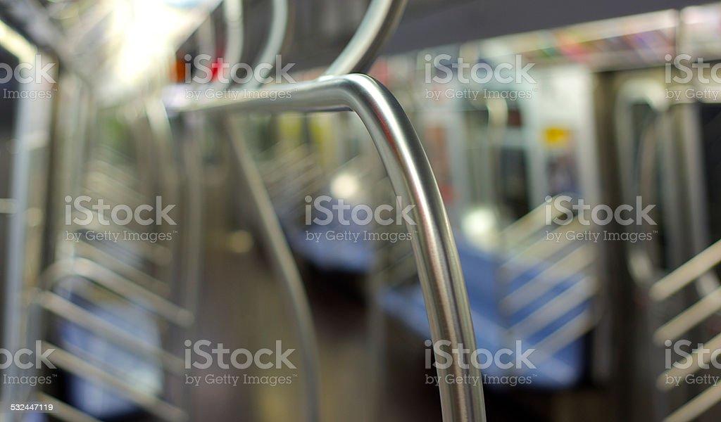 Leere U-Bahn-Auto Lizenzfreies stock-foto