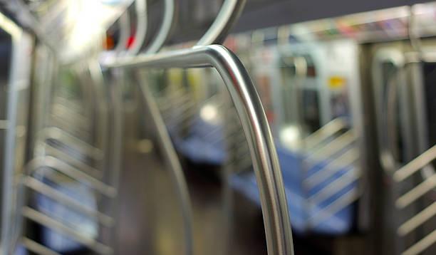 Leere U-Bahn-Auto – Foto