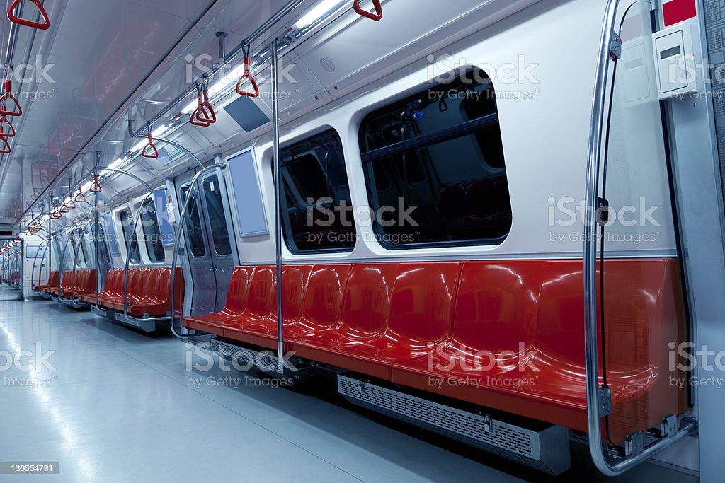 Vacío metro licencias - foto de stock