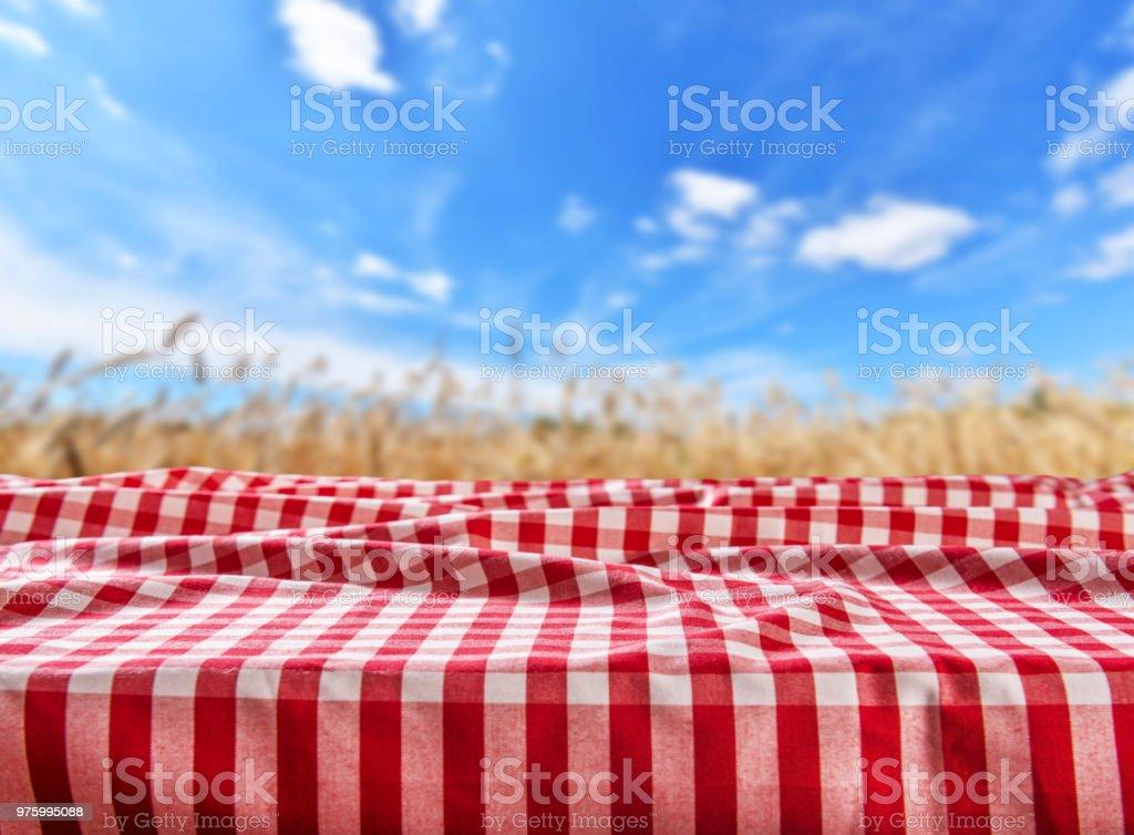 Empty table bacground stock photo