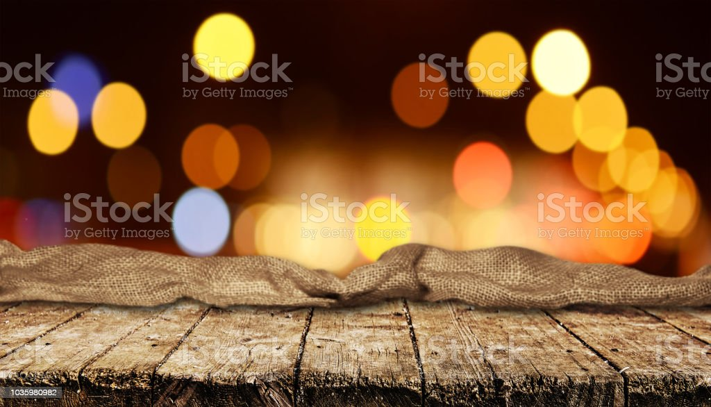 Empty table background - foto stock