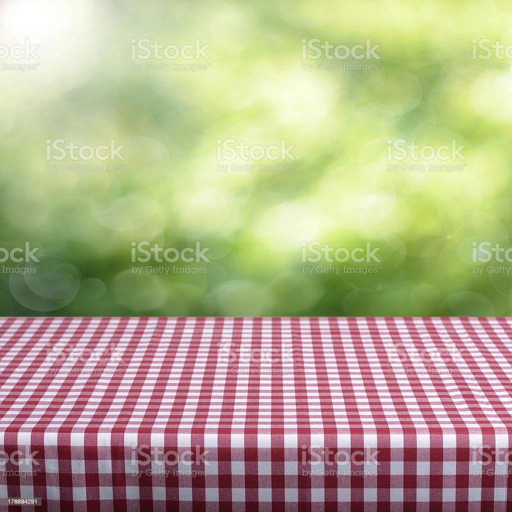 Empty table royalty-free stock photo