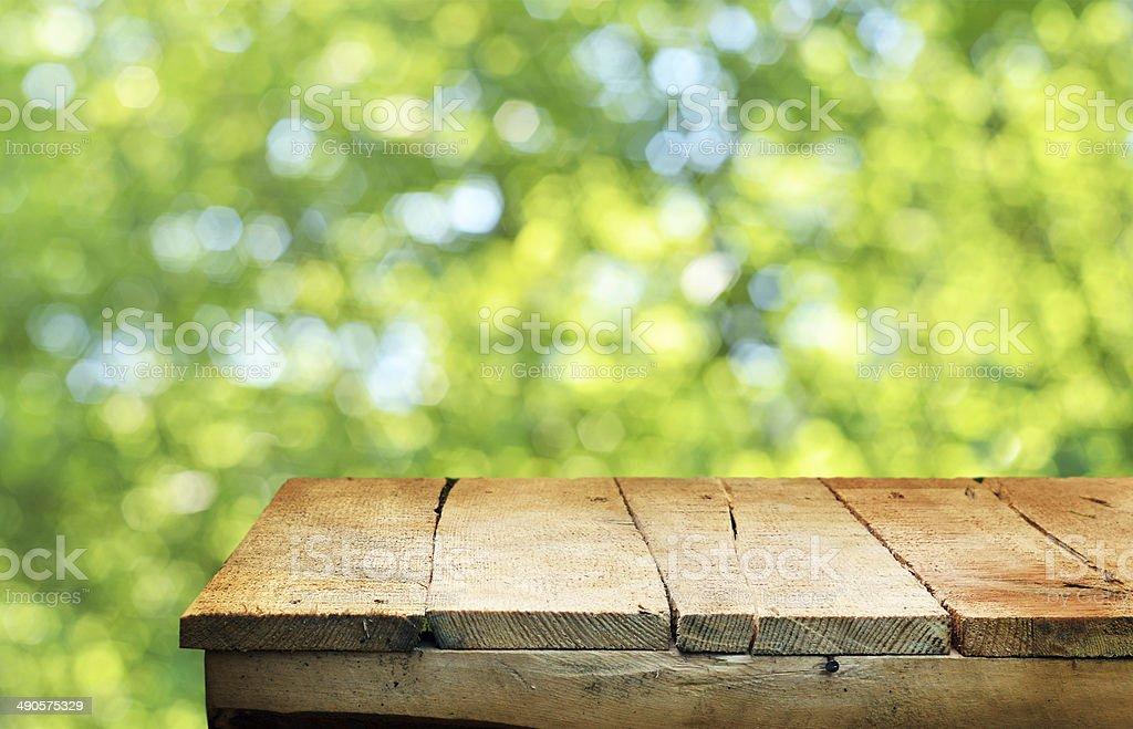 Leere Tisch – Foto