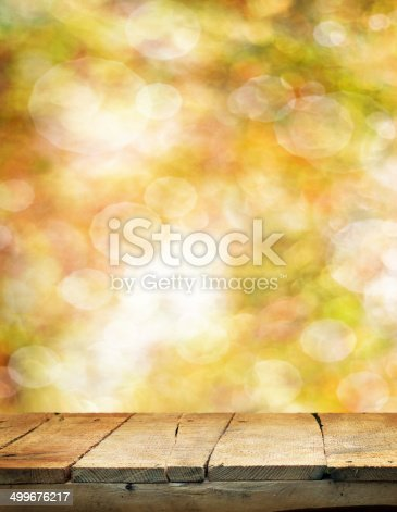 istock Empty table 499676217