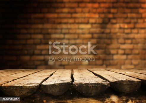 istock Empty table 509206757