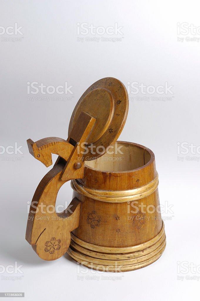 Empty Tankard royalty-free stock photo