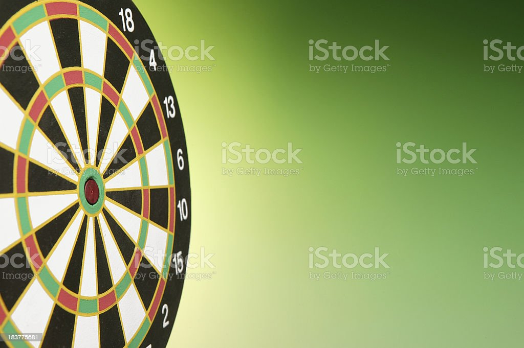 empty target royalty-free stock photo
