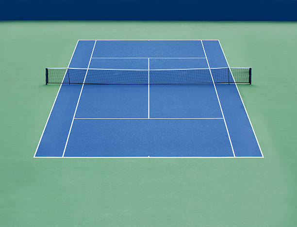 tennis hartplatz