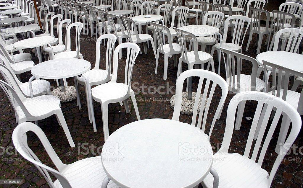 empty terrace royalty-free stock photo