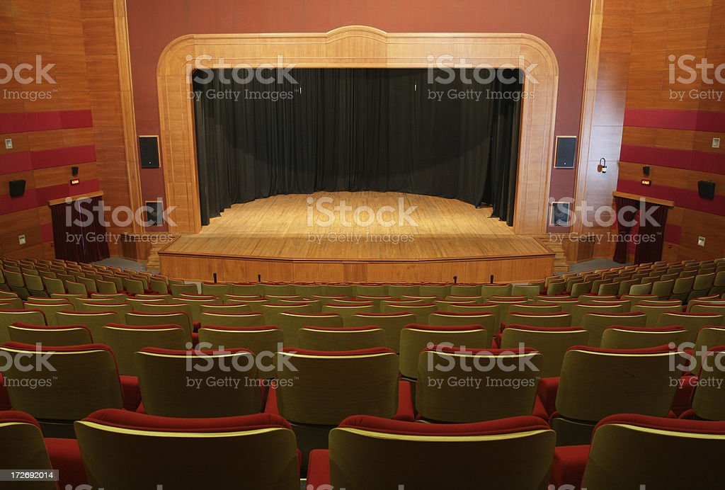 Empty Theater -II- royalty-free stock photo