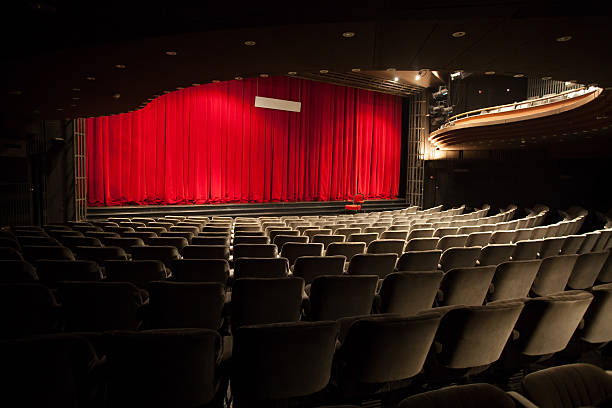 empty theater interior empty hteater interior theatrical performance stock pictures, royalty-free photos & images