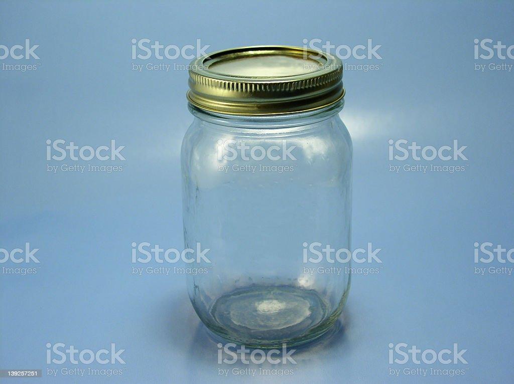 Empty Tomato  Jar royalty-free stock photo