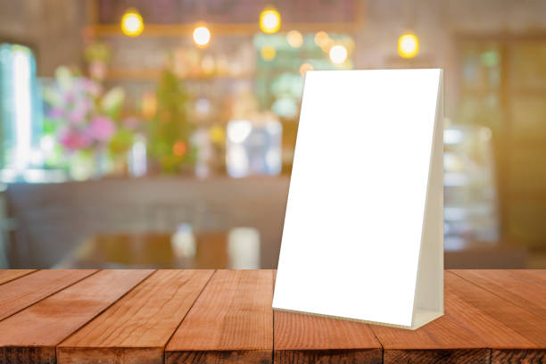 empty top of wooden table or counter with summer landscape blue sky clouds vibrantly colorful background. for product display,can be used for montage or display your products - vinyl banner mockup stock photos and pictures