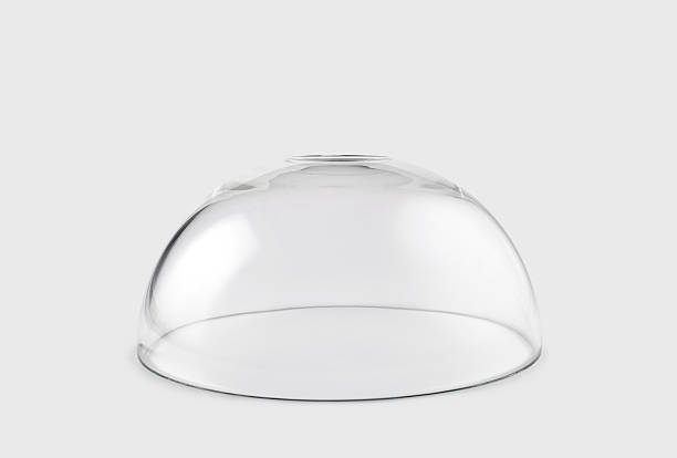 empty transparent glass dome - cupola stock pictures, royalty-free photos & images
