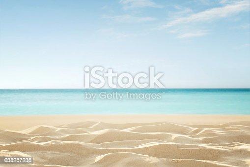 istock Empty tropical beach 638257238