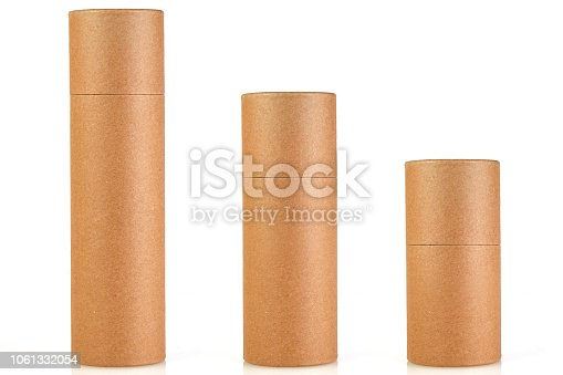 istock Empty Tube Craft Paper Box 1061332054