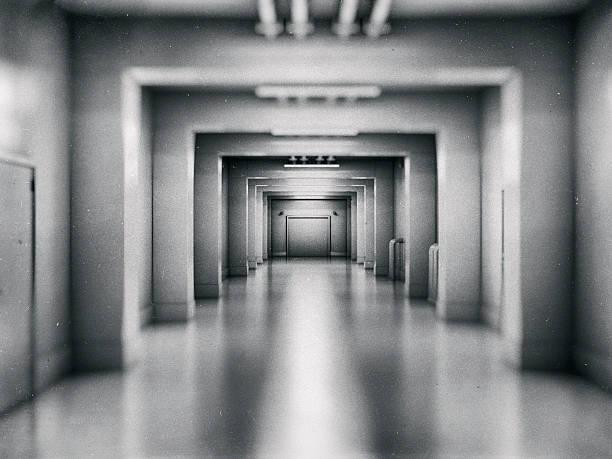 Empty underground shelter Empty underground shelter. bomb shelter stock pictures, royalty-free photos & images