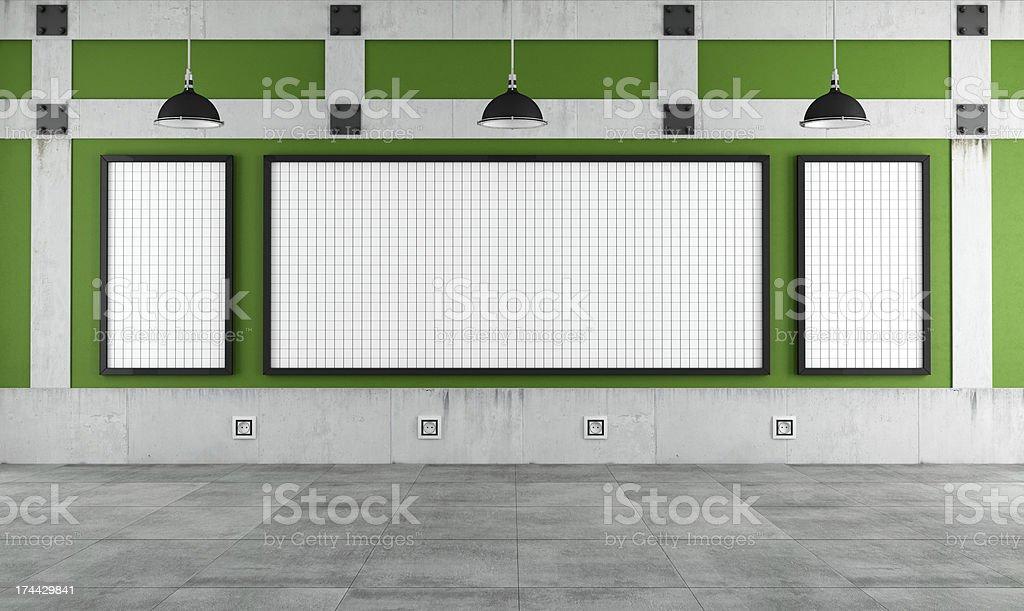 Empty university classroom royalty-free stock photo