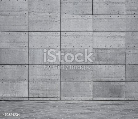 Empty concrete urban background with copy space