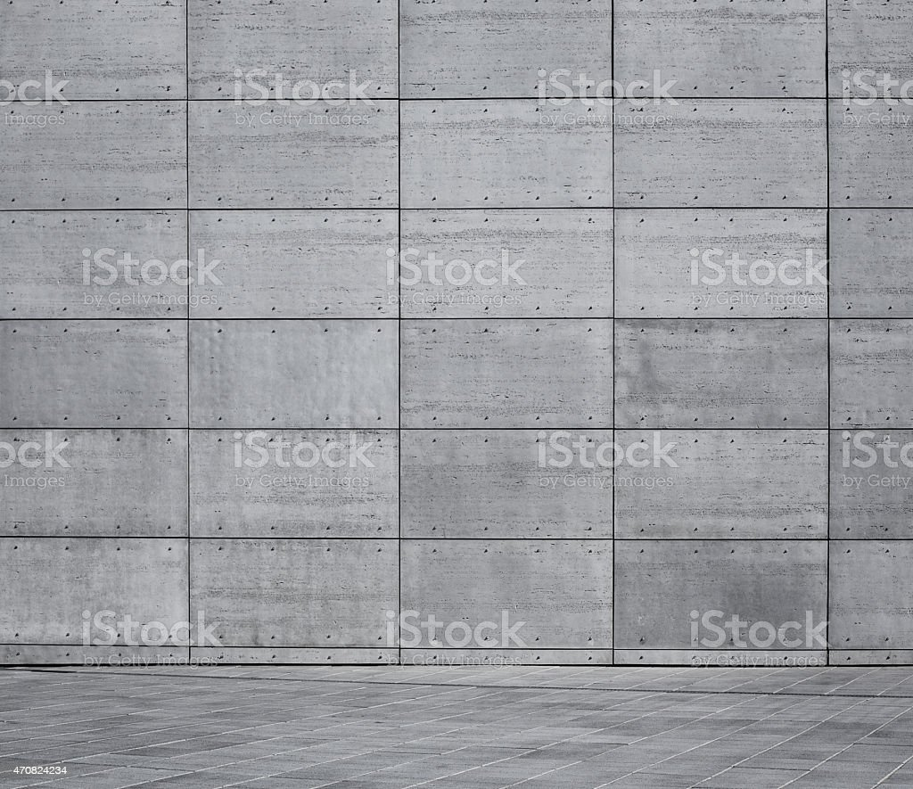 Empty urban background stock photo
