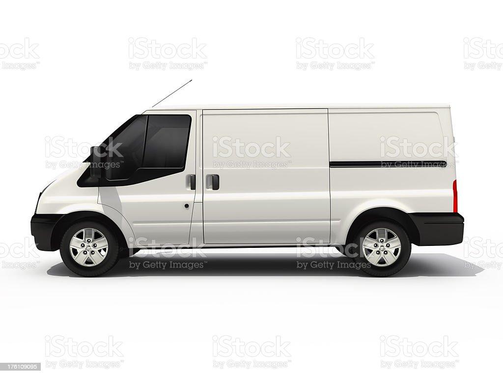empty van royalty-free stock photo