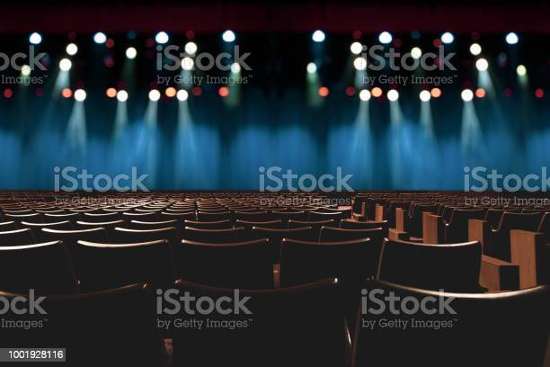 Empty vintage seat in auditorium or theater with lights on stage picture id1001928116?b=1&k=6&m=1001928116&s=612x612&h=h7ngibjgfha1wf8rmtmrzepsmvgzkvoggqa3s5gkiig=