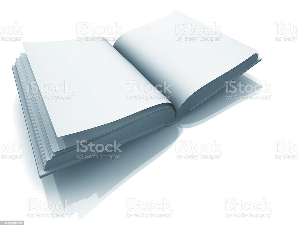 Empty Visitors´ Book stock photo