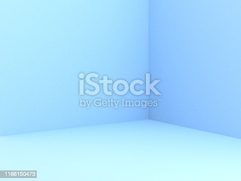 istock Empty Wall background 1166150473