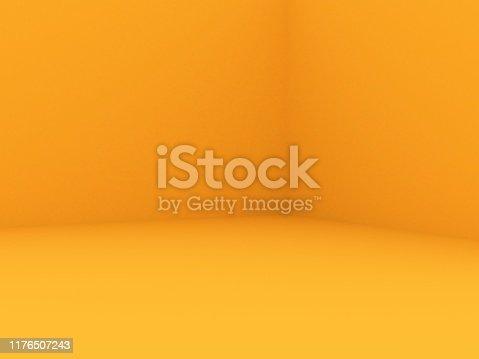 istock Empty Wall background 1176507243