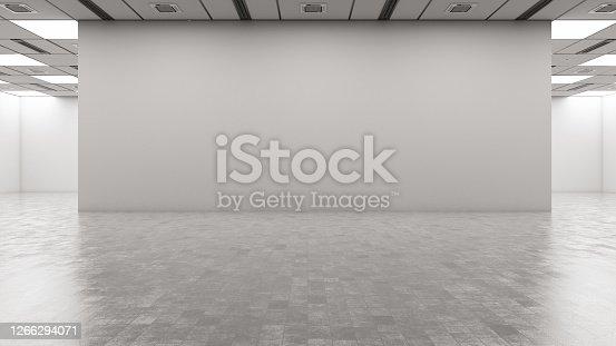 istock Empty Wall 1266294071