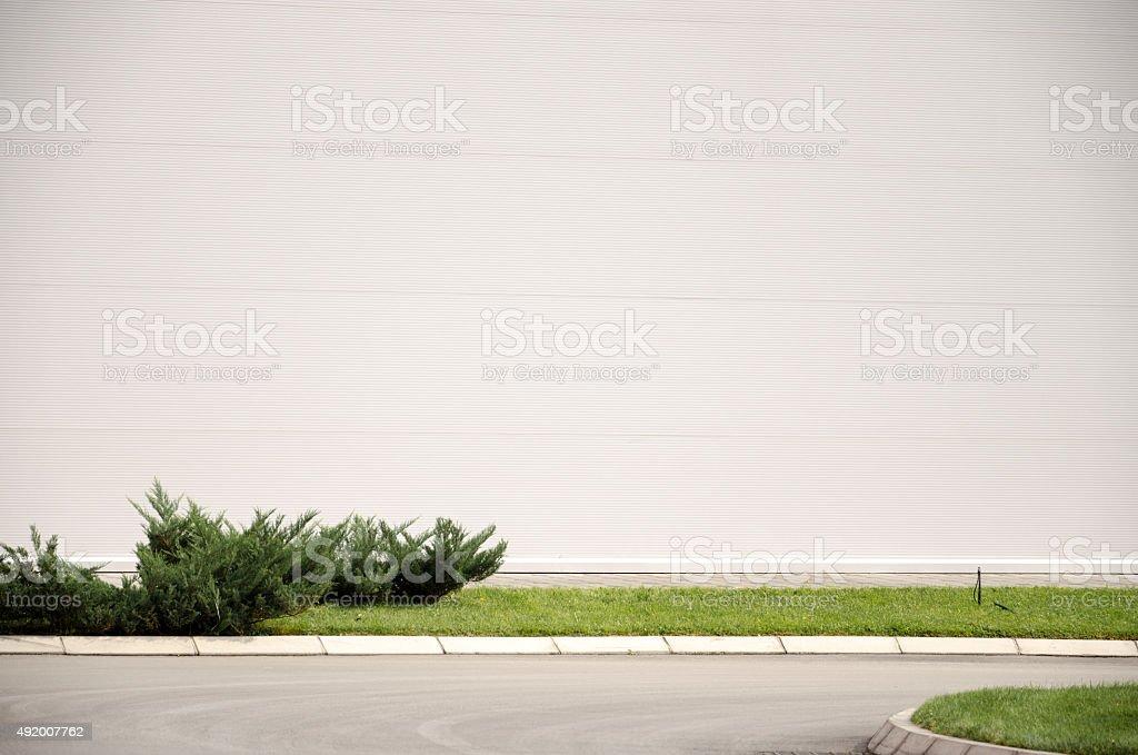 Vazio na parede - foto de acervo