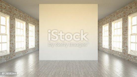 istock Empty Wall 612658344
