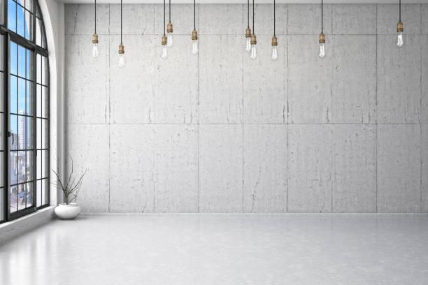 Empty Wall stock photo