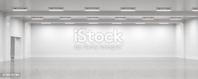 istock Empty warehouse interior 476515784