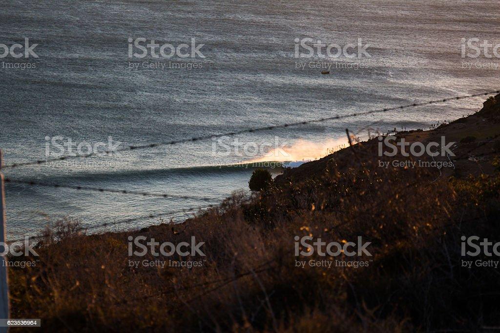 empty wave stock photo