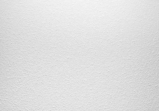 blanco vacío en pared con patrón de yeso cemento - estuco fotografías e imágenes de stock